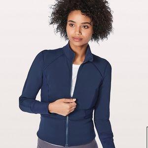 Lululemon Front & Centre Jacket in Hero Blue 8
